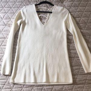 Trouve cream sweater